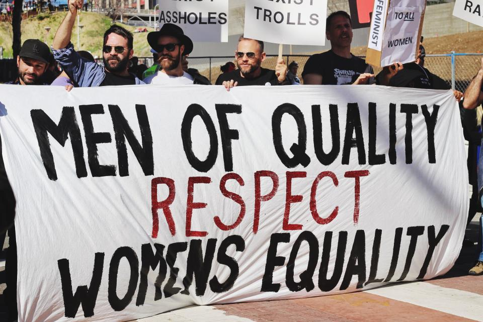 Respect man and women equally always